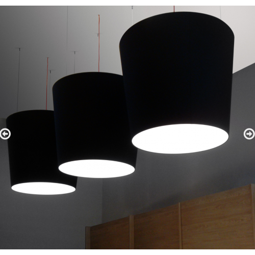 LAMPADA A SOSPENSIONE EVA - 2077/XG/NE