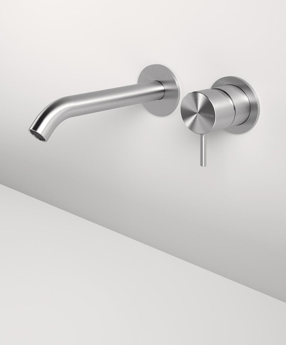 Miscelatore lavabo ad incasso con getto 190 mm Z316 Zazzeri - ConteCom