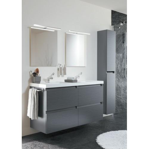 Mobile bagno doppio lavabo sospeso - B-Box