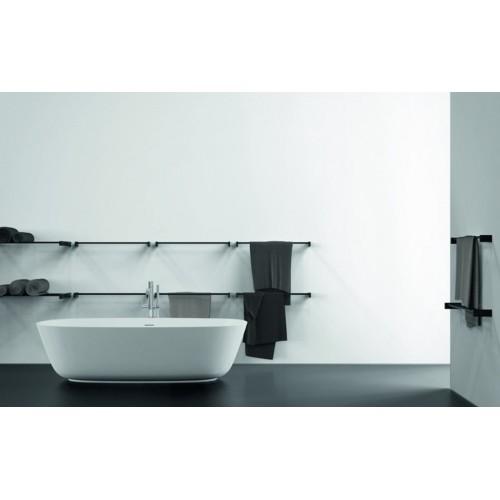 Portasalviette doppio 60 cm Towel bar 6 serie Quadra by Frost - contecom