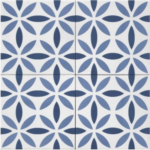 Piastrelle gres porcellanato Blu Aquarel 15x15 Tonalite - contecom