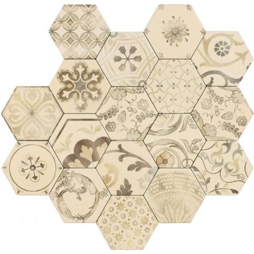 Piastrelle gres porcellanato Examatt mix 15x17,1 Tonalite - contecom