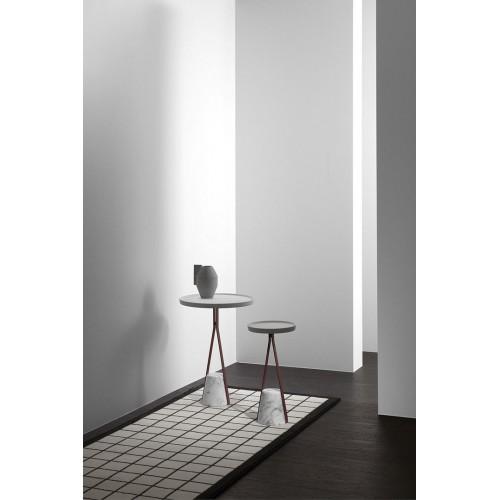 Tavolino con base in marmo Halo 2 Antonio Lupi - contecom