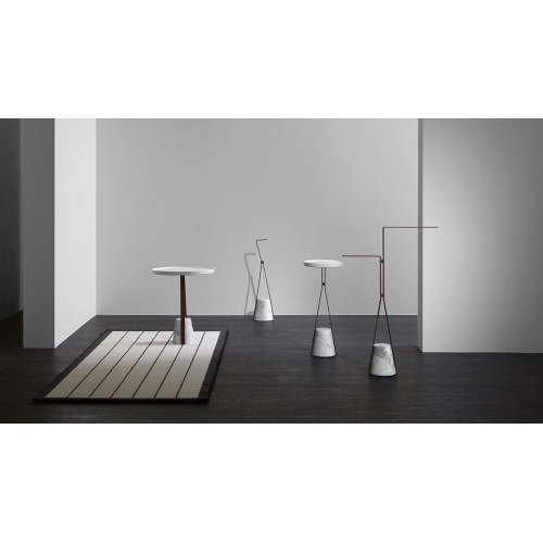Tavolino con base in marmo Halo 3 Antonio Lupi - contecom