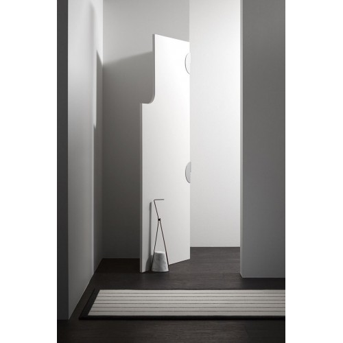Ferma porta con base in marmo Halo FP Antonio Lupi - contecom