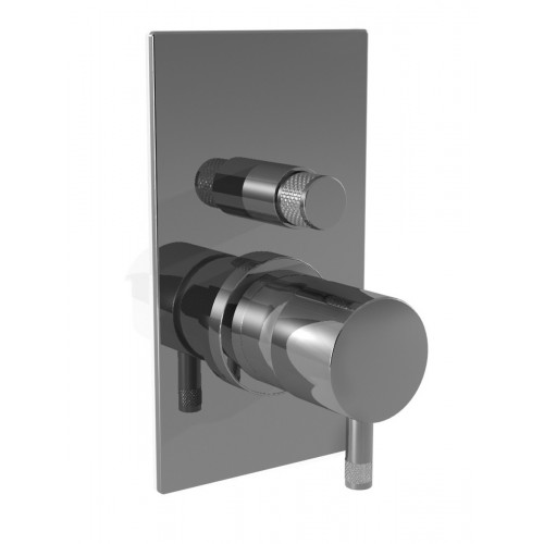 Miscelatore doccia/vasca con deviatore - Diametro 35 Ritmonio