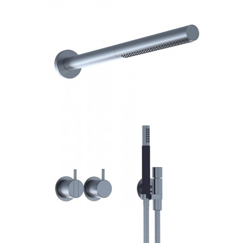 Miscelatore incasso, doccino e soffione doccia - 2471-081ST