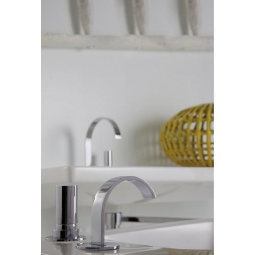 Miscelatore lavabo alto a due fori Arco Bonomi - contecom