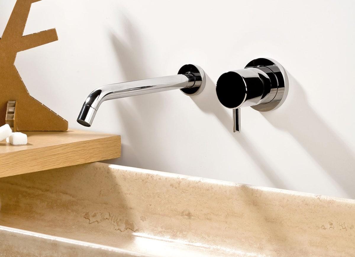 Miscelatore lavabo ad incasso con rosette Reverso Ritmonio - ConteCom
