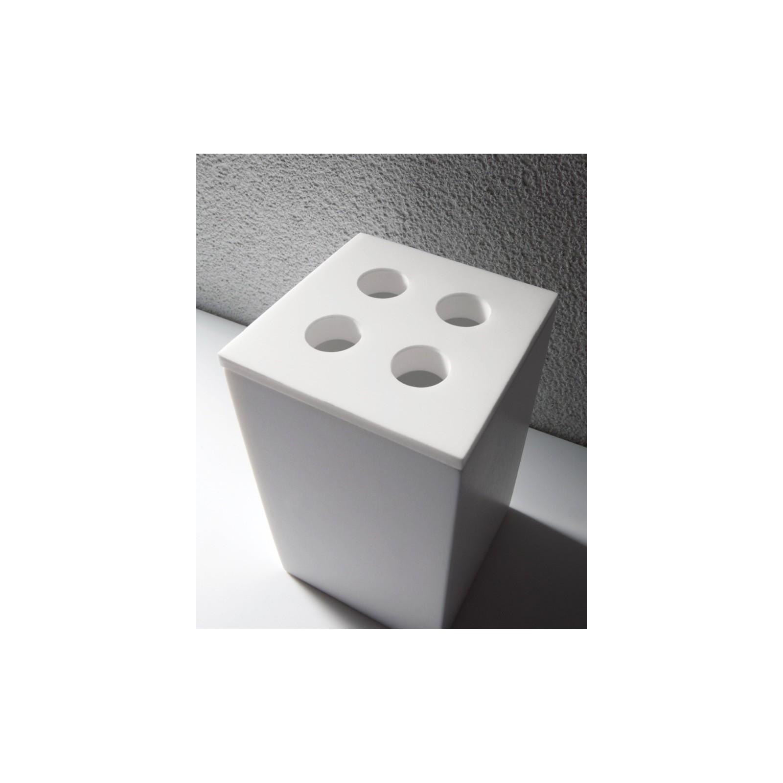 Cubo accessori per bagno moderni by Brera - ConteCom